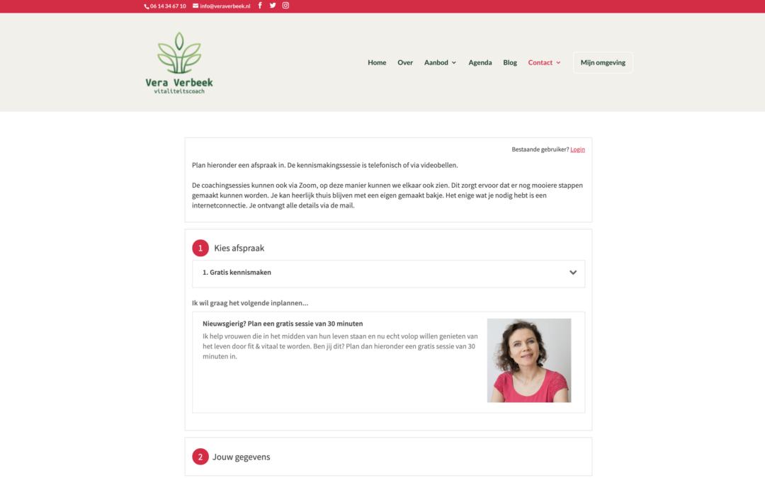 Online afsprakenplanner